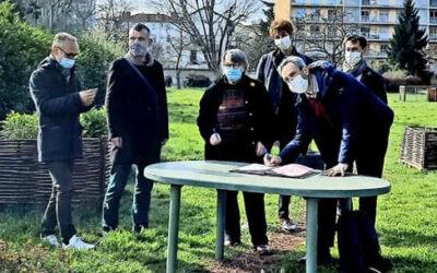 La Ferme de la Croix-Rousse et la Ville de Lyon ont signéune convention pour une durée de 6 ans!