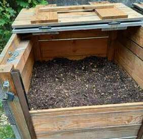 8e retournement du compost